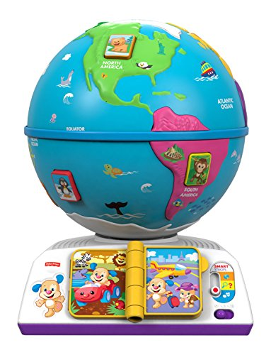 Fisher Price Infant DRJ81 -  Mappamondo del Cagnolino