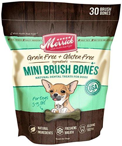 Merrick 30 Count Brush Dental Bone, Mini (Lil Brush Bones compare prices)