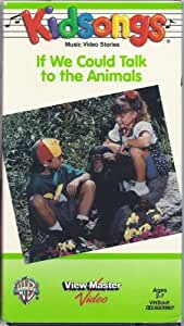 Amazon.com: Kidsongs - If We Could Talk To the Animals (1993 VHS