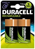 Duracell Rechargeable D Size Batteries--Pack of 2