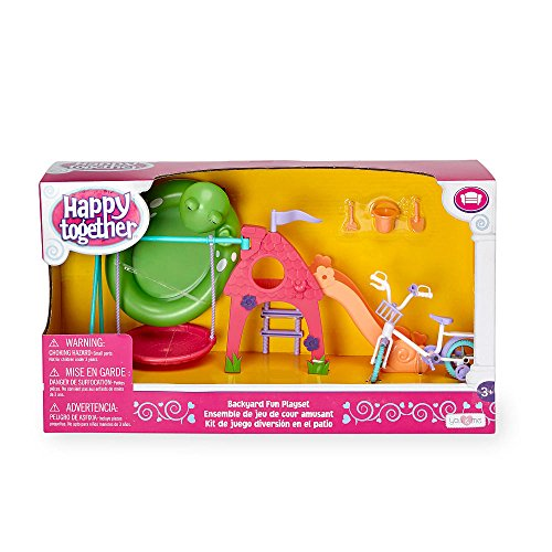Happy together doll backyard fun playset toys games for T shaped swing set