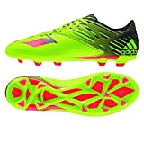 adidas Performance Men's Messi 15.3 Soccer Shoe,Semi Solar Slime/Solar Red/Black,9 M US