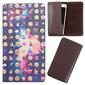 DooDa - For Lenovo A328 PU Leather Designer Fashionable Fancy Case Cover Pouch With Smooth Inner Velvet