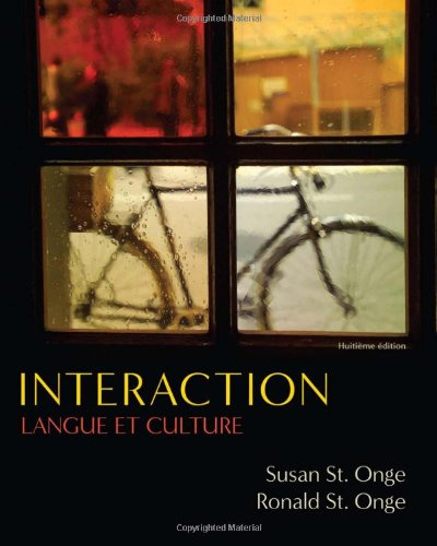 Interaction: Langue et culture (Available Titles iLrn:...