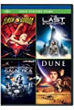 Four Feature Films: Flash Gordon / Last Starfighter / Battlestar Galactica / Dune (Bilingual) [Import]