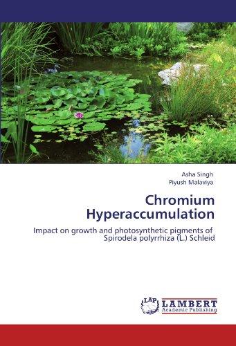 Chromium Hyperaccumulation: Impact on growth and photosynthetic pigments of Spirodela polyrrhiza (L.) Schleid PDF