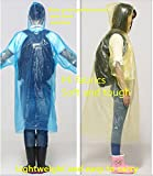 Hovisi®Poncho One Size Fit Most with Hood 10 Per Pack