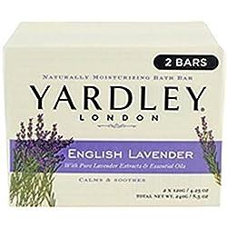 Yardley English Lavender Bar Soap 2 Count