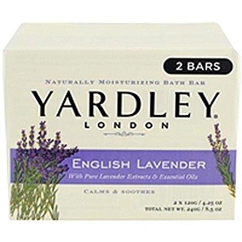 Yardley Bar Soap, English Lavender, 2 Count Review