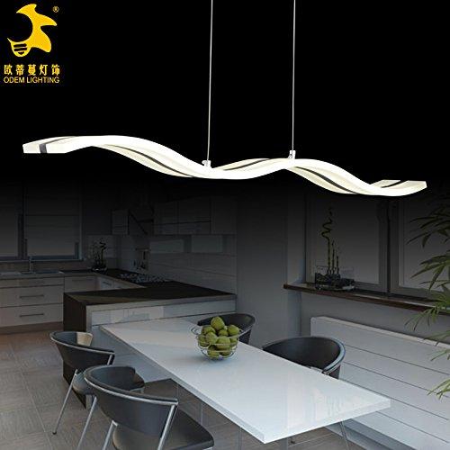 Winson Elegante design elegante in stile vintage da soffitto pendente tonalità di luce elegante ciondolo LightsLe Grand S-onda , grandi S/le onde lampadario
