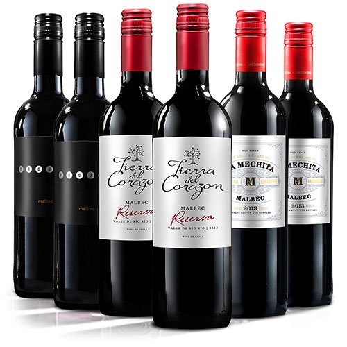 Virgin Wines Luxury Malbec Selection Red – (Case Of 6)