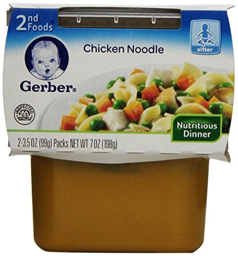 Gerber 2Nd Foods, Chicken Noodle, 7-Ounce (Pack Of 8) front-240746