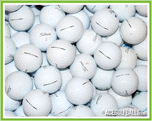 100 Titleist Pro V1x Golf Balls - Pearl / Grade A - from Ace Golf Balls