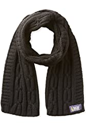 Nautica Men's Solid Cable Scarf