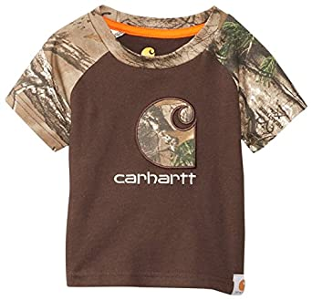 Amazon Carhartt Baby Boys Infant Camo C Raglan Tee
