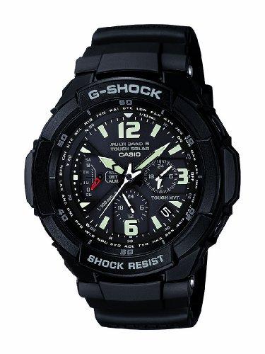 卡西欧海淘:CASIO G-Shock 卡西欧太阳能六局电波表 GW3000