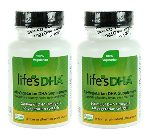 Martek Life's DHA 200mg All-Vegetarian Softgels, 60 Count - 1