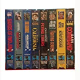 The John Wayne Larger than Life Collection: The Fighting Kentuckian / Dark Command / In Old California / Wake of the Red Witch / The Fighting Seabees / Flying Tigers / Sands of Iwo Jima / Rio Grande [VHS]