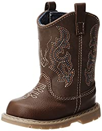 Natural Steps Bronco Boot (Infant/Toddler/Little Kid),Brown,2 M US Infant