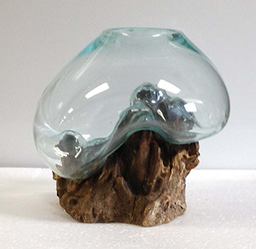 Blown Glass Fish Bowl