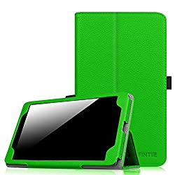 Fintie AT&T Trek HD Case - Premium PU Leather Slim Fit Folio Stand Cover with Stylus Loop for AT&T Trek HD 8 inch 4G LTE Android Tablet, Green