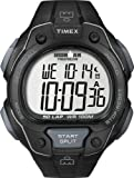 Timex Men's T 5K495 SU Ironman Traditional 50-Lap All Black Resin Strap Watch