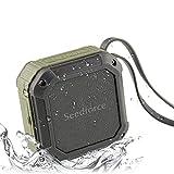 Bocina Seedforce  para el aire libre o ducha Bluetooth 4.1 de 5W y batería para 16 horas de uso
