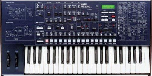 Korg Ms2000 44 Key Analog Modeled Synthesizer Ms 2000