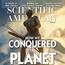 Scientific American, August 2015  by Scientific American Narrated by Mark Moran
