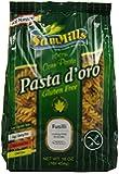 Sam Mills Pasta D'Oro Gluten Free Fusilli, 1-Pound (Pack of 6)