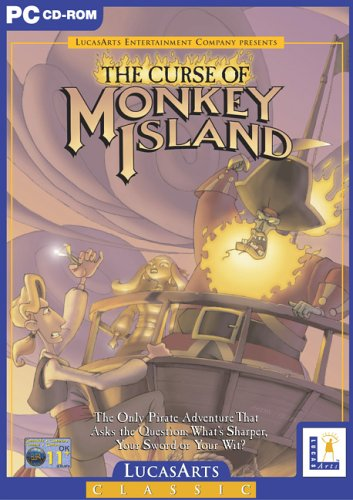 The Curse of Monkey Island - Lucas Arts Classic (PC CD)