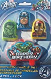 Marvel The Avengers Assemble Mini Molded Birthday Candle Set