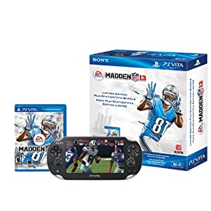 PlayStation Vita +  Madden NFL 13