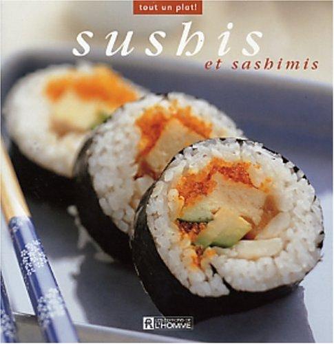 Livre de recette de sushis et sashimis