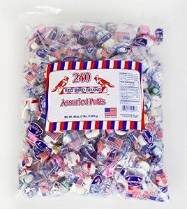 Red Bird Assorted Mint Puffs 46 Ounce Bag Assorted Flavors