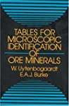 Table for Microscopic Identification...