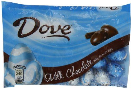 Dove Silky Smooth Eggs, Milk Chocolate, 8.87-Ounce