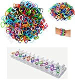 Toy - Kinder Freundschaft Loom Armband Ring Schmuck Craft Kit Set Gummib�nder M�dchen