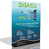 4x DISAGU ClearScreen Displayschutzfolie Displayfolie für