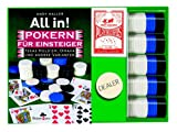 51GVDPRD4XL. SL160  All in! Pokern für Einsteiger. Texas Holdem, Omaha und andere Varianten. Buch plus Karten, Chips und Dealer Button