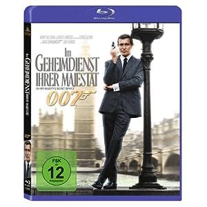 James Bond - Im Geheimdienst ihrer Majestät [Blu-ray] [Import allemand]