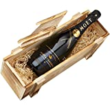 Moet & Chandon Nectar Imperial in Holzkiste DGN geflammt (1 x 0.75 l)