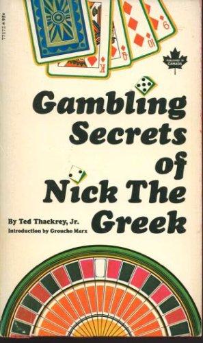 Gambling Secrets of Nick the Greek, Ted Thackrey Jr