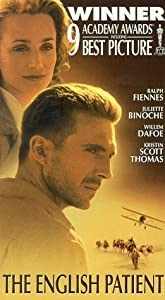 The English Patient [VHS]
