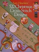 Sam Hawkins' 520 Christmas Cross-Stitch Designs