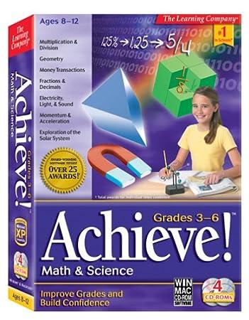 Achieve! Math & Science Grades 3-6