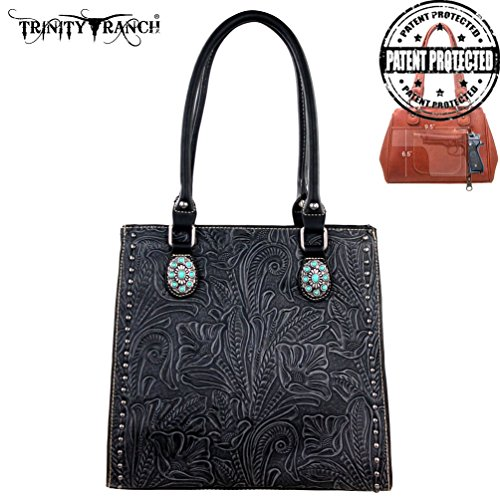 tr22g-l8569-montana-west-trinity-ranch-tooled-design-concealed-handgun-collection-black