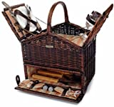 Willow BBQ Picnic Basket - Picnic and Beyond