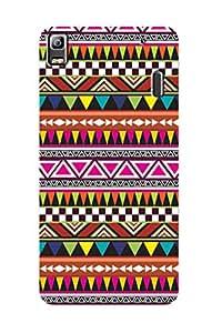 ZAPCASE PRINTED BACK COVER FOR LENOVO K3 NOTE - Multicolor