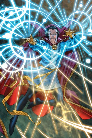 (12x18) Marvel Adventures Dr. Strange Poster